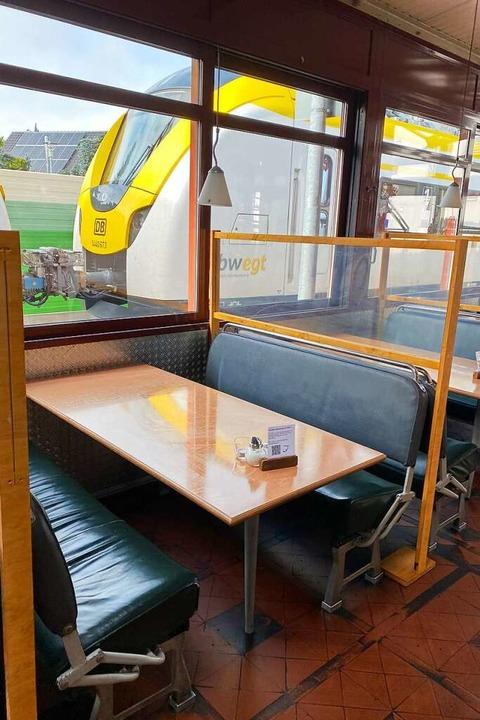 Ganz nah dran: das Gleis 1 in March-Hugstetten    Foto: Privat/Gleis1
