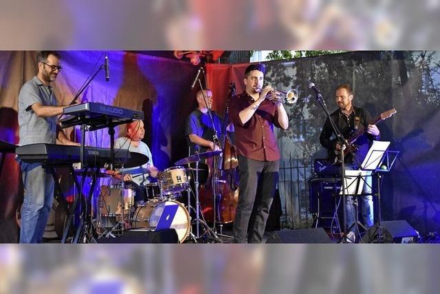 Packender Fusion- Jazz in Nellies Hof