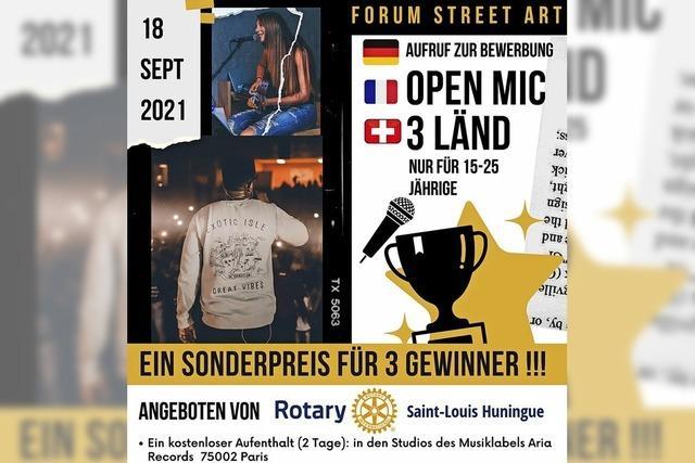Ein Wettbewerb für junge Musiker aus dem Dreiländereck