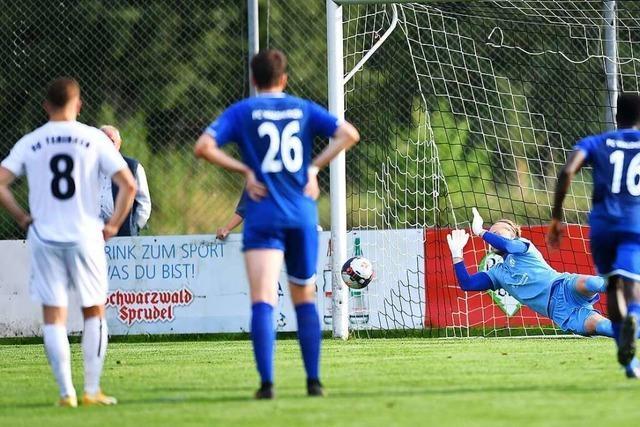 Der FC Waldkirch gewinnt das Derby beim FC Teningen nach hartem Kampf