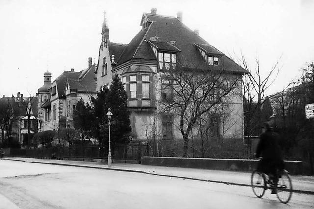 Vor 120 Jahren ging eine Freiburger Villa auf Reisen – von Herdern in die Wiehre