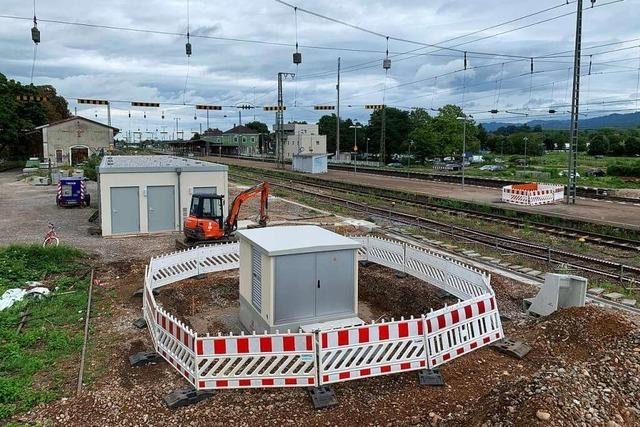 Bahn will 13 Millionen Euro für ein elektronisches Stellwerk in Müllheim investieren