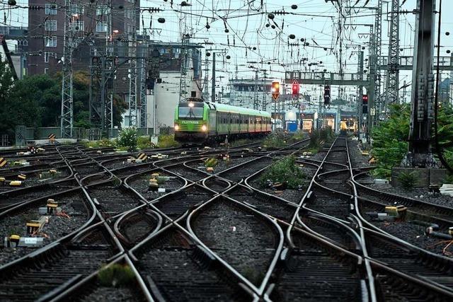 Lokführergewerkschaft beginnt erneuten Streik im Personenverkehr der Bahn