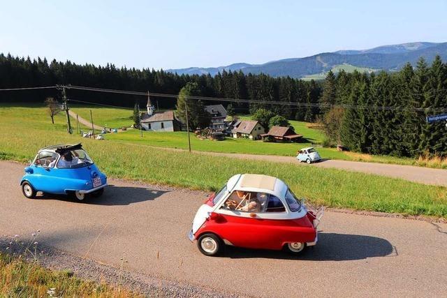 Knutschkugeln auf Tour – Isetta-Treffen im Hochschwarzwald
