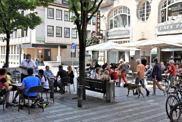 Lörracher Gastronomen sollen größere Freiflächen weiterhin nutzen dürfen