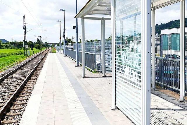 An Schopfheims Bahnhaltepunkten gibt es mehrere Missstände