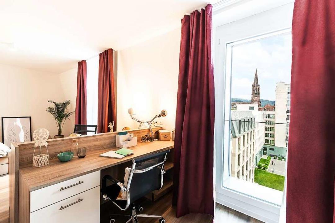 Einige Apartments haben sogar Münsterblick.  | Foto: Marina Geckeler