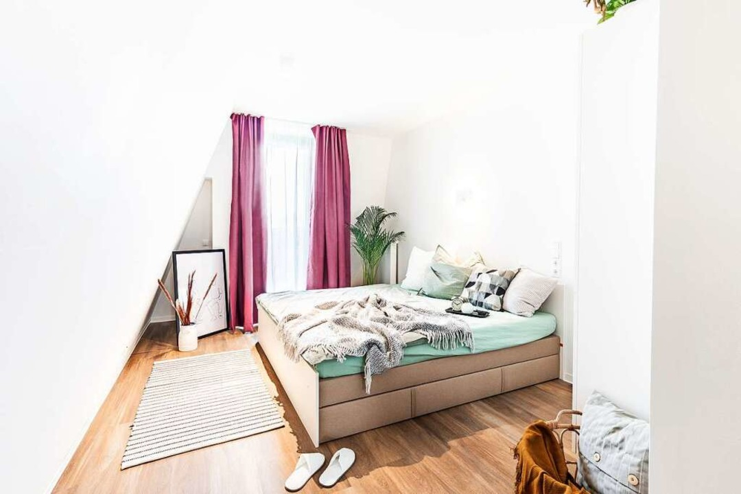 Schlafplatz im Double Apartment  | Foto: Marina Geckeler