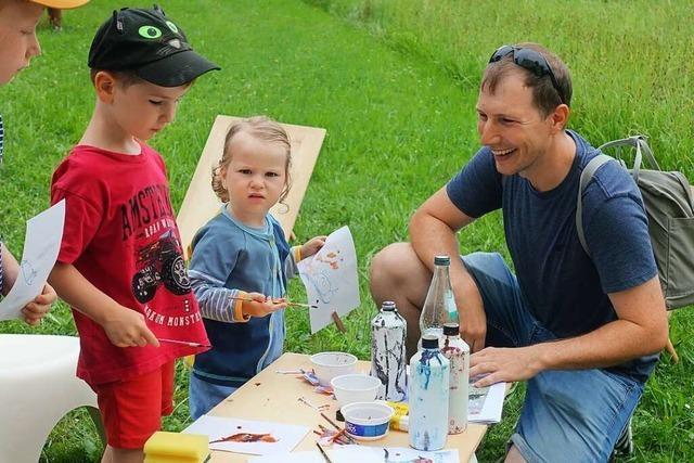 Auf dem Rehberger-Weg gab es ein Sommerfest mit