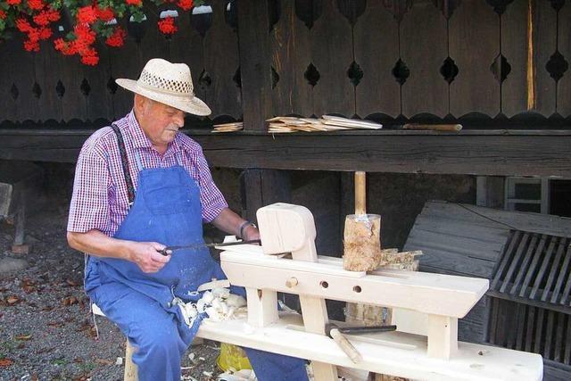Die Holzschneflertage als Fest für alte Handwerkskunst