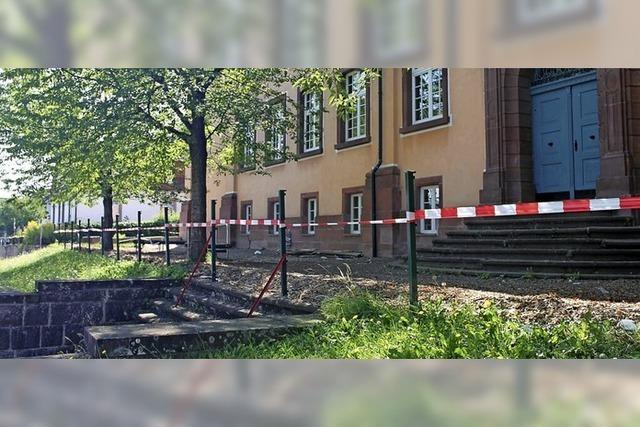 Arbeiten an der Grundschule Ettenheim