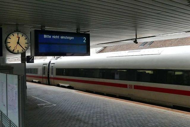 Lokführerstreik sorgt am Badischen Bahnhof in Basel für Ruhe