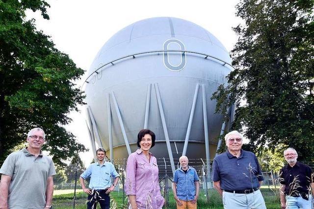 Alte Gaskugel in Freiburg könnte zum Klangraum umfunktioniert werden