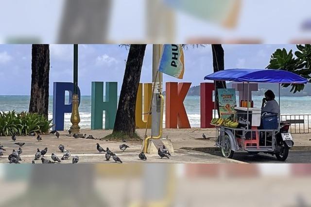 Keine Spur von Party auf Phuket