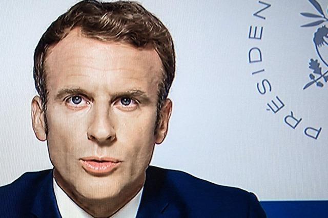 Emmanuel Macron steigt wieder in der Wählergunst