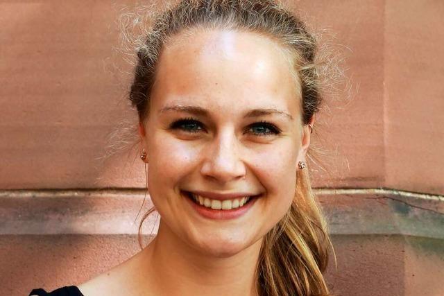 Pia Weigel (25) ist die neue Vorsitzende im SPD-Ortsverein für Freiburgs Süden