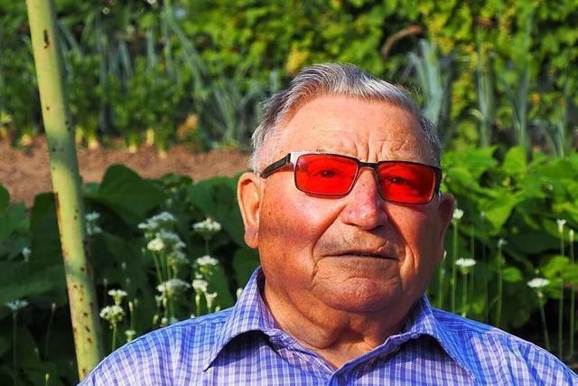 Der Weiler Max Neckermann feiert seinen 90. Geburtstag