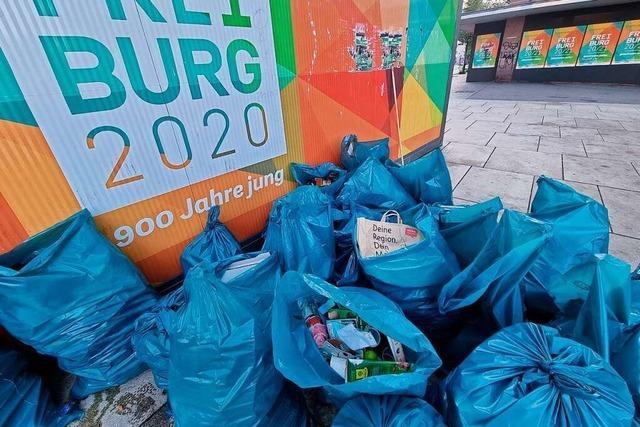 Freiburg ist Spitzenreiter bei der Müllvermeidung im Land