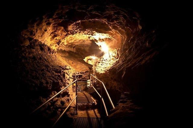 In der Rheinfelder Tschamberhöhle herrschen konstant elf Grad