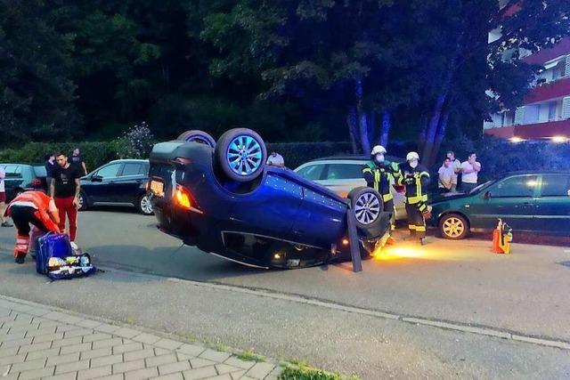 Alkoholisierte Frau verursacht Verkehrsunfall in Waldkirch
