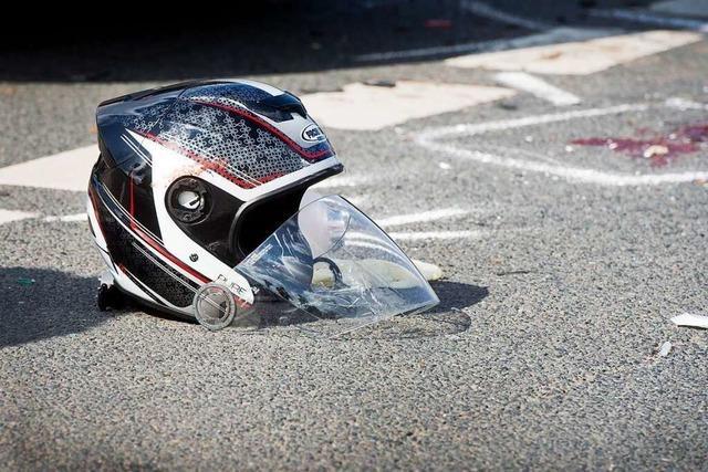 82-jähriger Motorradfahrer bei Oberprechtal verunfallt tödlich