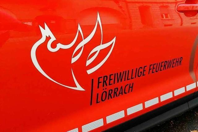 Die Lörracher Feuerwehr muss am Montagabend sechsmal ausrücken