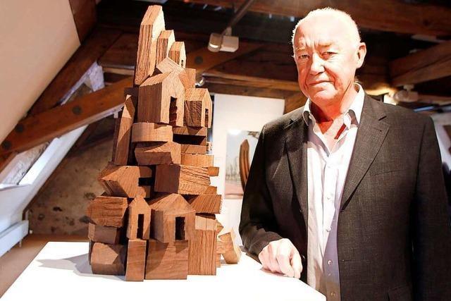 Werner Pokorny zeigt zusätzlich kleinere Werke in der städtischen Galerie Lahr