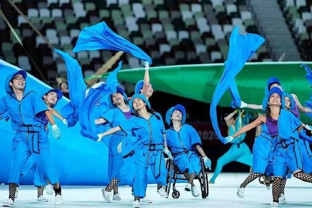 Fotos: Die Eröffnungsfeier der Paralympics in Tokio