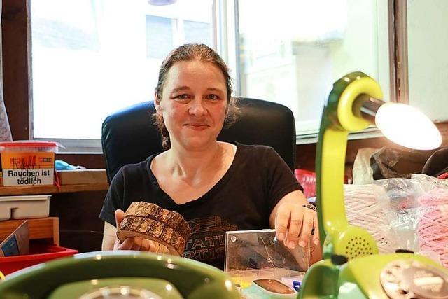 Samira Reitzig aus Wehr schenkt alten Dingen ein zweites Leben