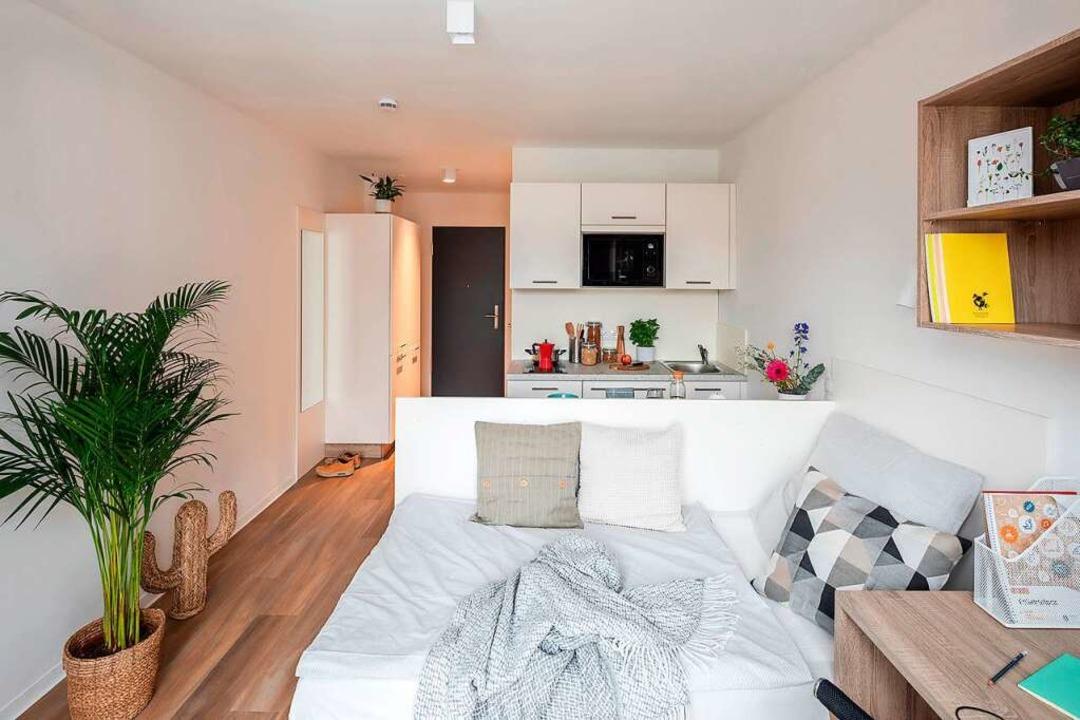 Die Einrichtung in den Apartments ist modern und praktisch.  | Foto: Marina Geckeler