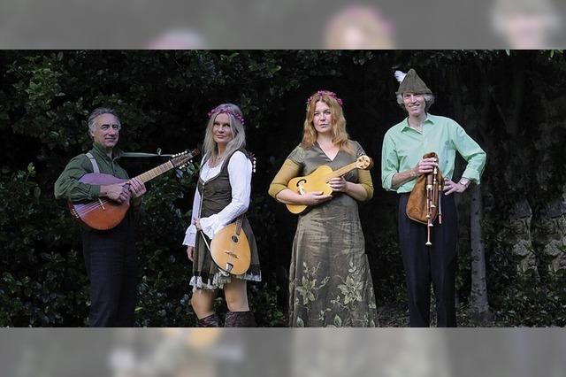 The Early Folk Band spielt im Sommerprogramm historische Balladen zu Robin Hood
