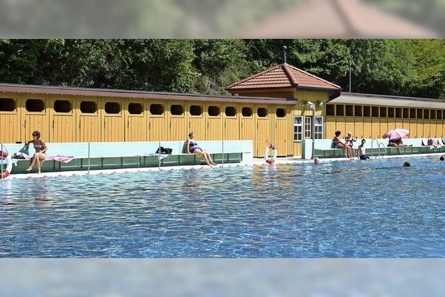 Denkmalgeschütztes Alemannenbad in Staufen