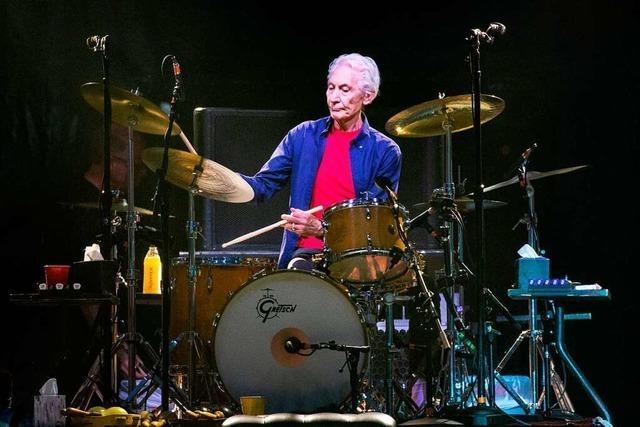 Rolling-Stones-Schlagzeuger Charlie Watts mit 80 Jahren gestorben