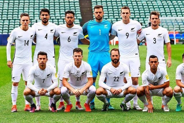 Neuseelands Fußballer heißen