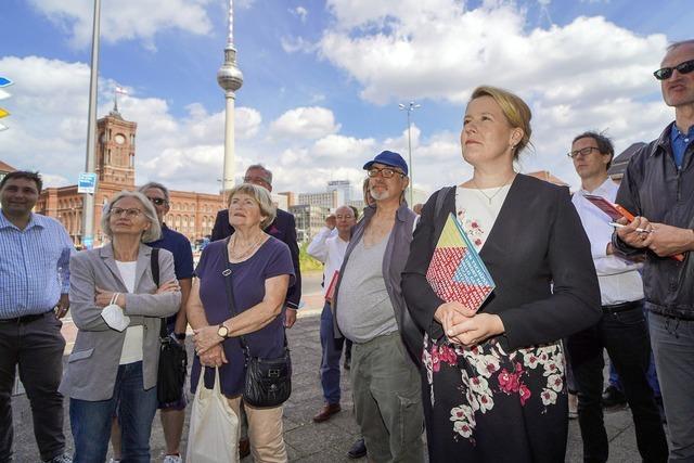 Ein offenes Rennen in Berlin