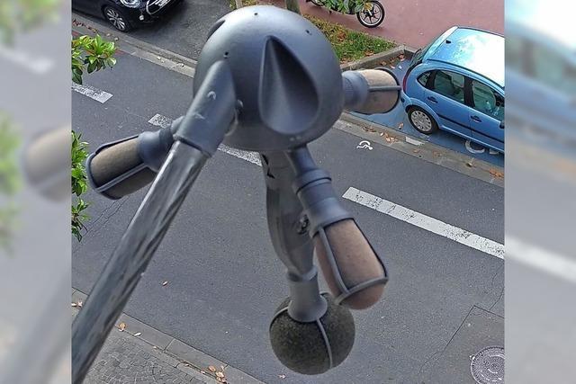 Laute Biker und Autofahrer mit Lärm-Radar stoppen