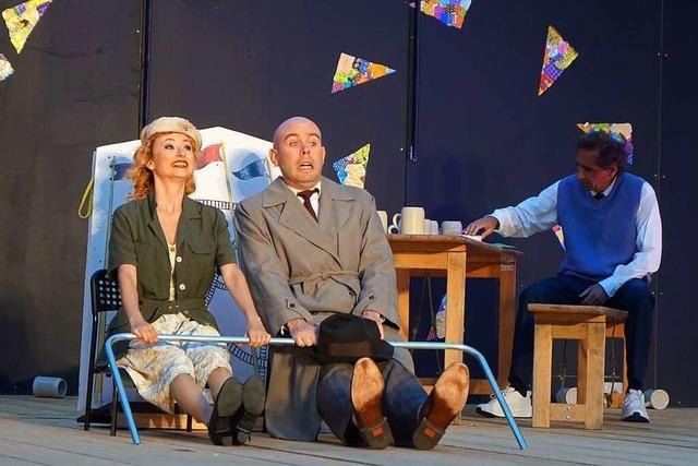In Muttenz spielt die Theatergruppe Rattenfänger an einem besonderen Ort