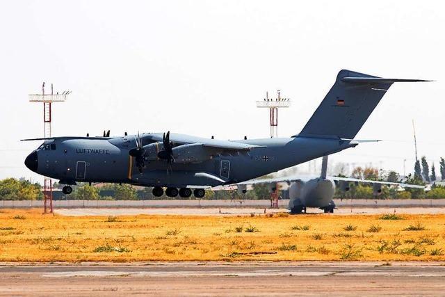 Bundeswehr-Luftbrücke aus Afghanistan könnte schon Freitag enden