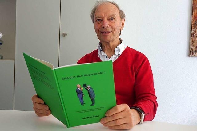 Bad Säckingens Ex-Bürgermeister hat über seine Amtszeit ein Buch zum Schmunzeln geschrieben
