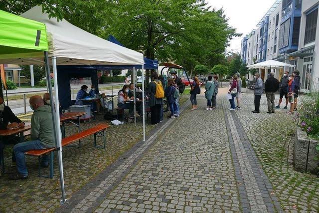 Rund 100 Menschen kommen zur Impfaktion nach Friedlingen
