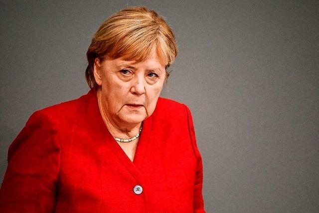 Merkel plädiert für Gespräche mit den Taliban