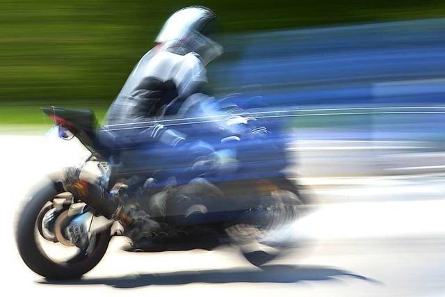 Laute Motorräder und Raser nicht erwünscht
