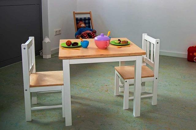 Der neue Kindergarten bietet Platz für 55 Kinder
