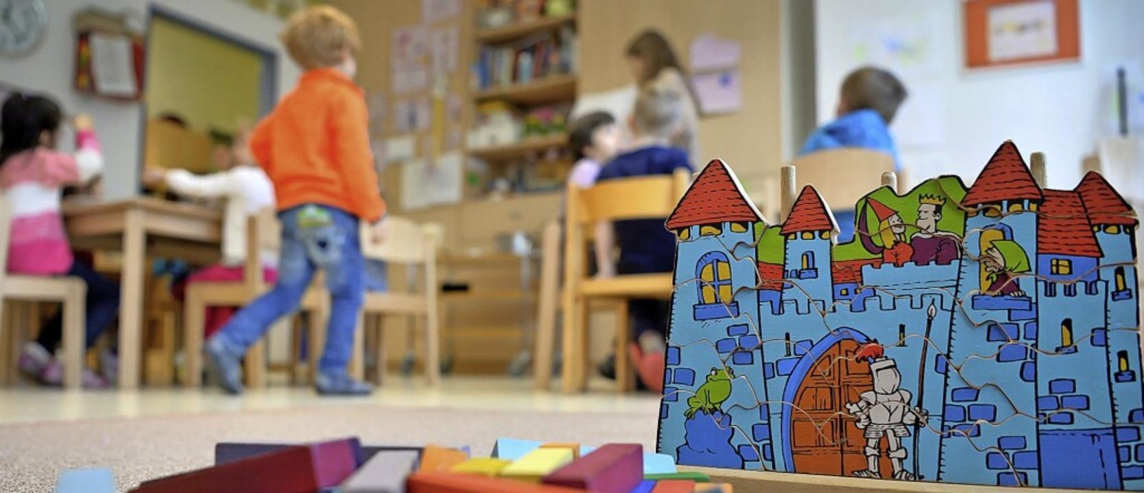 Eschbach hat einer Bedarfsabfrage zufolge zu wenig Kindergartenplätze.  | Foto: Monika Skolimowska