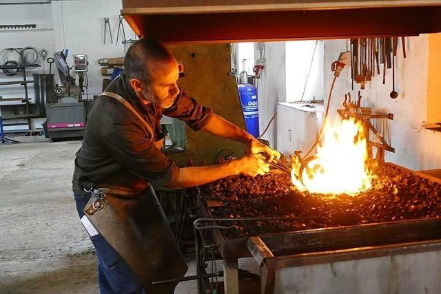 Marcel Rosello hat in Barcelona Design studiert und ist Schmied in Schopfheim geworden