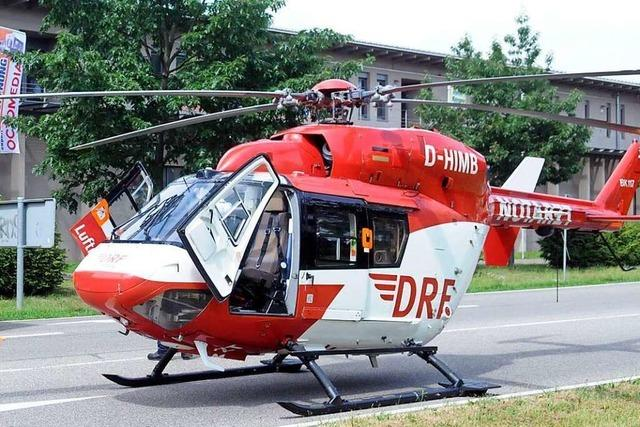 Lahr oder Offenburg – wer bekommt den Rettungshelikopter?