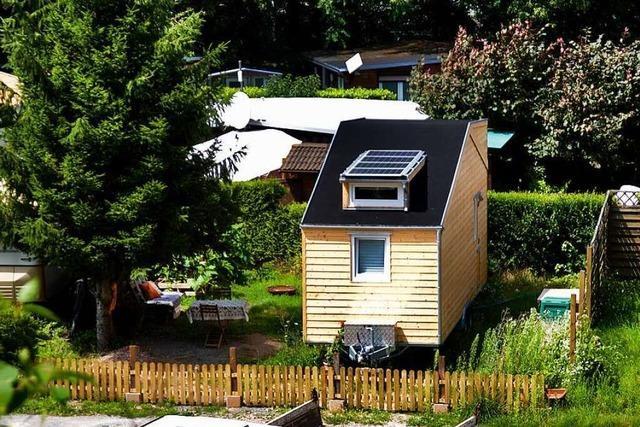 Auf kleinstem Raum: So ist das Leben in einem Tiny-House