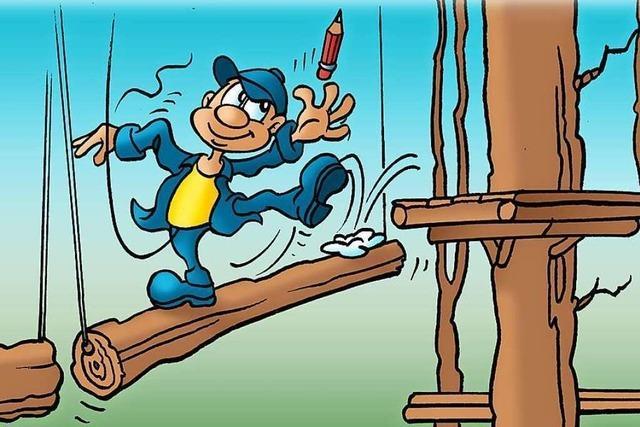 Abenteuer-Tag im Kletterwald Staufen zu gewinnen!