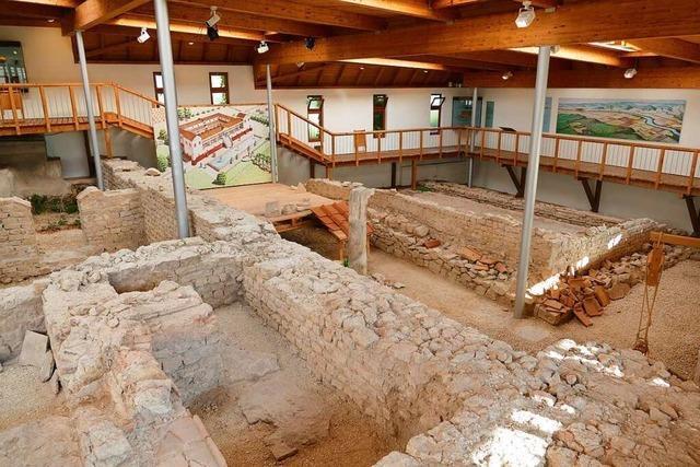 War die imposante Römervilla in Grenzach einmal ein Gutshof?