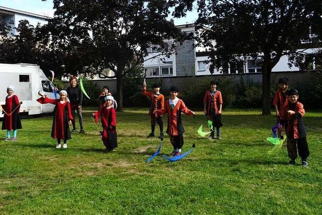 In Weil am Rhein trainieren Kinder wie echte Artisten